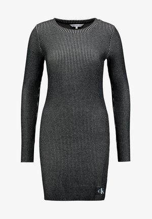 LONG SLEEVE DRESS - Shift dress - black
