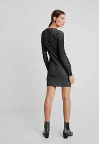Calvin Klein Jeans - LONG SLEEVE DRESS - Pouzdrové šaty - black - 3
