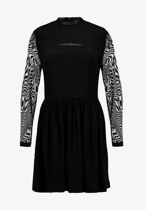 SKATER DRESS - Day dress - black