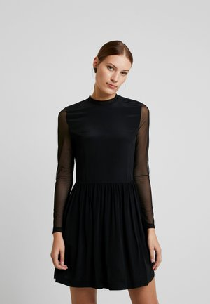 SKATER DRESS - Freizeitkleid - black
