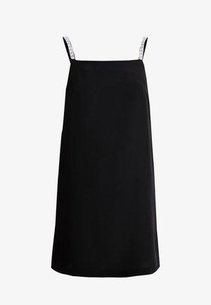 LOGO SLIP DRESS - Robe d'été - black beauty