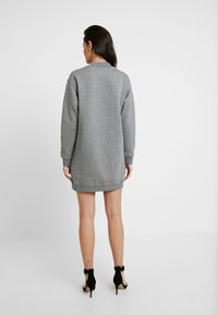 Calvin Klein Jeans - MOCK NECK DRESS - Denní šaty - mid grey heather - 3