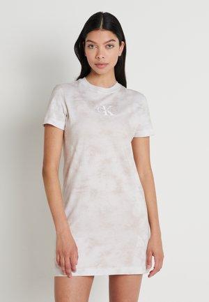 TIE DYE DRESS - Vestido ligero - plaza taupe