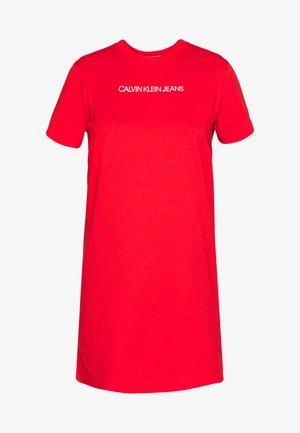 INSTITUTIONAL DRESS - Robe en jersey - fiery red
