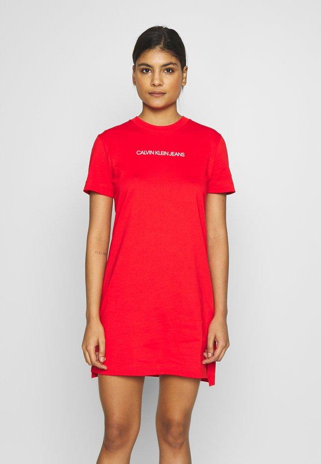 INSTITUTIONAL DRESS - Jerseyjurk - fiery red