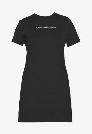 INSTITUTIONAL DRESS - Žerzejové šaty - black