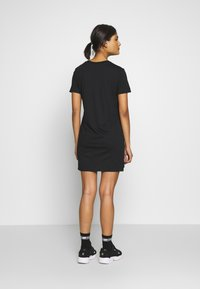Calvin Klein Jeans - INSTITUTIONAL DRESS - Robe en jersey - black