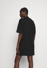Calvin Klein Jeans - LARGE OVERSIZED DRESS - Jersey dress - black - 2