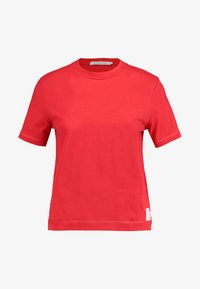 Calvin Klein Jeans - CORE STRAIGHT FIT TEE - T-shirt con stampa - racing red - 4