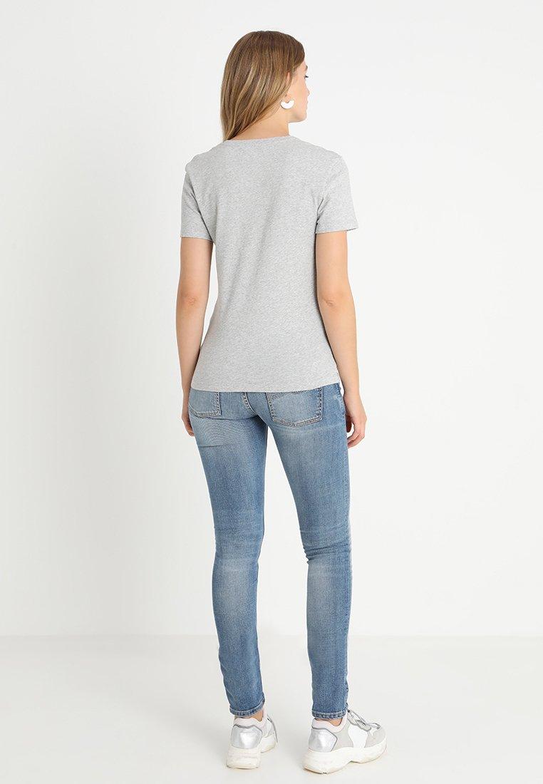 Core Light Monogram Heather LogoT Imprimé Calvin Jeans shirt Grey Klein wPXikuTOZ