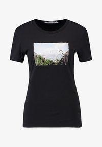 Calvin Klein Jeans - PHOTO PRINT MODERN SLIM TEE - T-shirts med print - black - 3