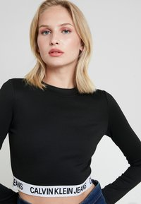 Calvin Klein Jeans - MILANO SLEEVE  - T-shirt à manches longues - black - 3