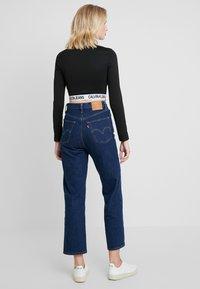 Calvin Klein Jeans - MILANO SLEEVE  - T-shirt à manches longues - black - 2