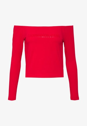 BARDOT INSTITUTIONAL TEE - Camiseta de manga larga - red