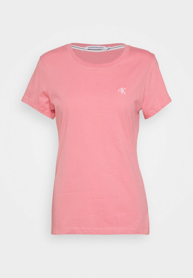 EMBROIDERY - T-shirt - bas - brandied apricot