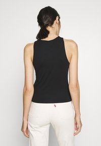 Calvin Klein Jeans - MONOGRAM STRETCH SPORTY TANK - Top - black - 2