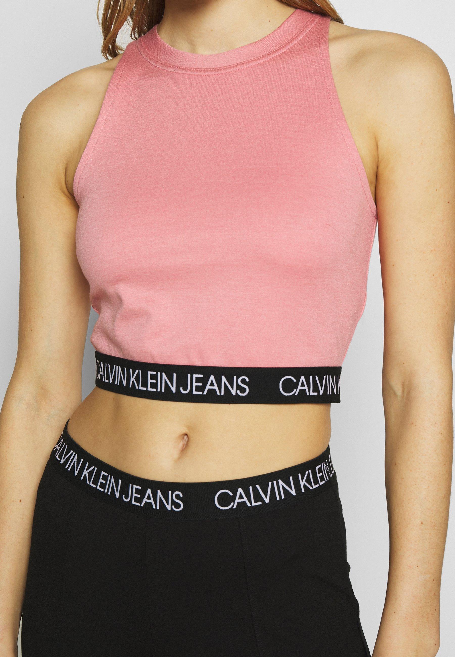 Calvin Klein Jeans Milano Sporty Tank - Top Brandied Apricot raBDGtQ