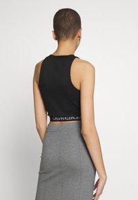 Calvin Klein Jeans - MILANO SPORTY TANK - Débardeur - black - 2