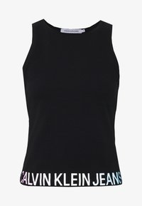Calvin Klein Jeans - DEGRADE LOGO SPORTY TANK - Top - black - 4