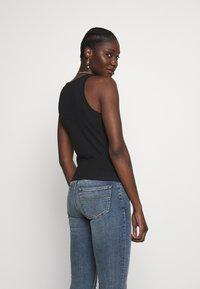 Calvin Klein Jeans - DEGRADE LOGO SPORTY TANK - Top - black - 2