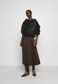 Calvin Klein Jeans - BACK INSTITUTIONAL LOGO SLIM TEE - Print T-shirt -  black - 1