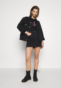 Calvin Klein Jeans - CK ONE RIB BODY - Top - black beauty - 1