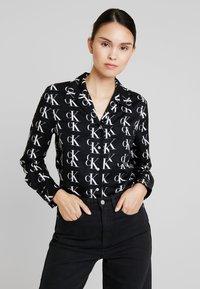 Calvin Klein Jeans - UTILITY - Overhemdblouse - black/white - 0