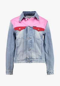 Calvin Klein Jeans - FOUNDATION TRUCKER - Veste en jean - mohonk light pink blocked - 4