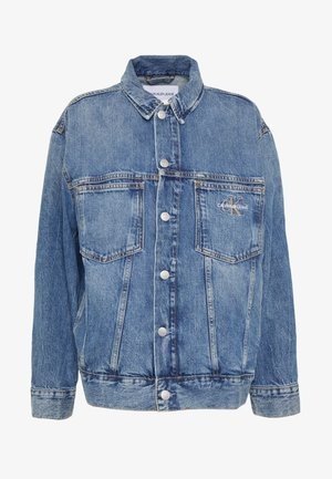 ICONIC OVERSIZED TRUCKER - Veste en jean - mid blue