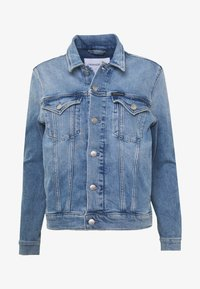Calvin Klein Jeans - FOUNDATION TRUCKER - Veste en jean - light blue - 3
