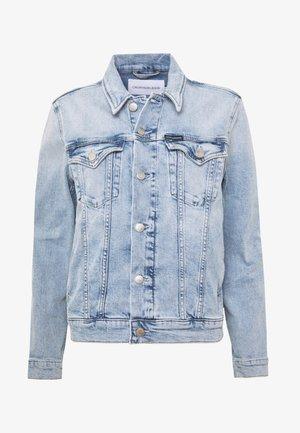 FOUNDATION TRUCKER - Veste en jean - bleached blue