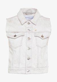 Calvin Klein Jeans - ARCHIVE VEST - Smanicato - bleach grey - 4