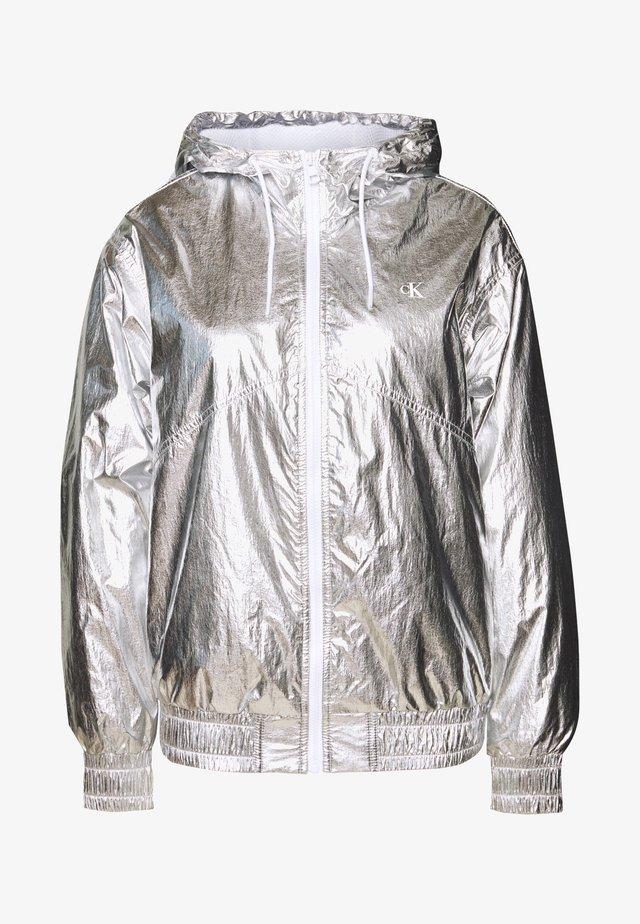 Veste mi-saison - silver metallic