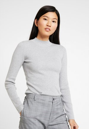 ICONIC CREW NECK - Jumper - light grey heather