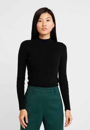ICONIC CREW NECK - Stickad tröja - black