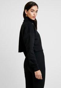 Calvin Klein Jeans - OVERSIZED TURTLE NECK - Pullover - black - 2