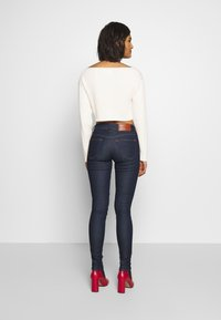 Calvin Klein Jeans - CROPPED BOAT NECK SWEATER - Pullover - offwhite - 2
