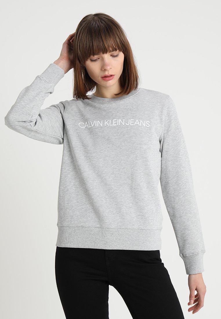 Calvin Klein Jeans - INSTITUTIONAL CORE LOGO - Mikina - light grey
