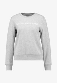 Calvin Klein Jeans - INSTITUTIONAL CORE LOGO - Mikina - light grey - 4