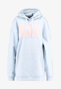 Calvin Klein Jeans - MULTI LOGOOVERSIZED HOODIE - Mikina skapucí - skyway - 4