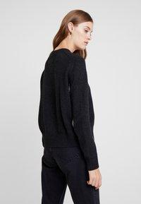 Calvin Klein Jeans - CK LOGO ARCHIVE - Svetr - mid grey heather - 2