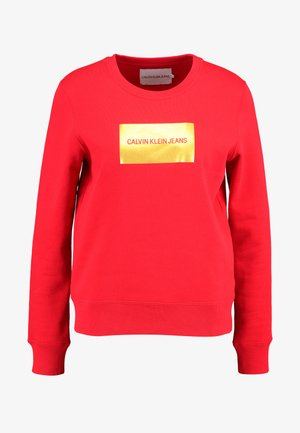 INSTIT GOLD BOX LOGO - Sweatshirt - racing red