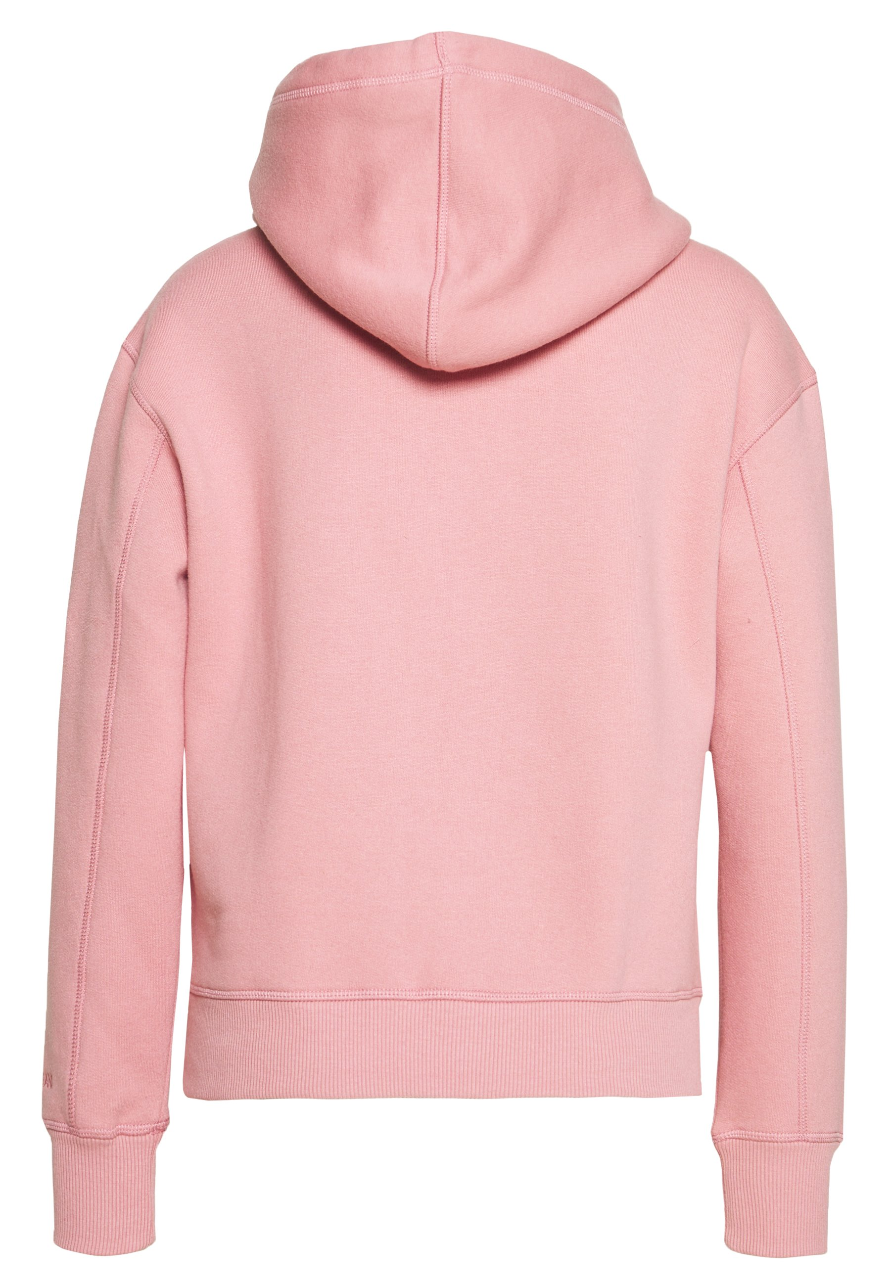 Calvin Klein Jeans Embroidery Hoodie - Brandied Apricot