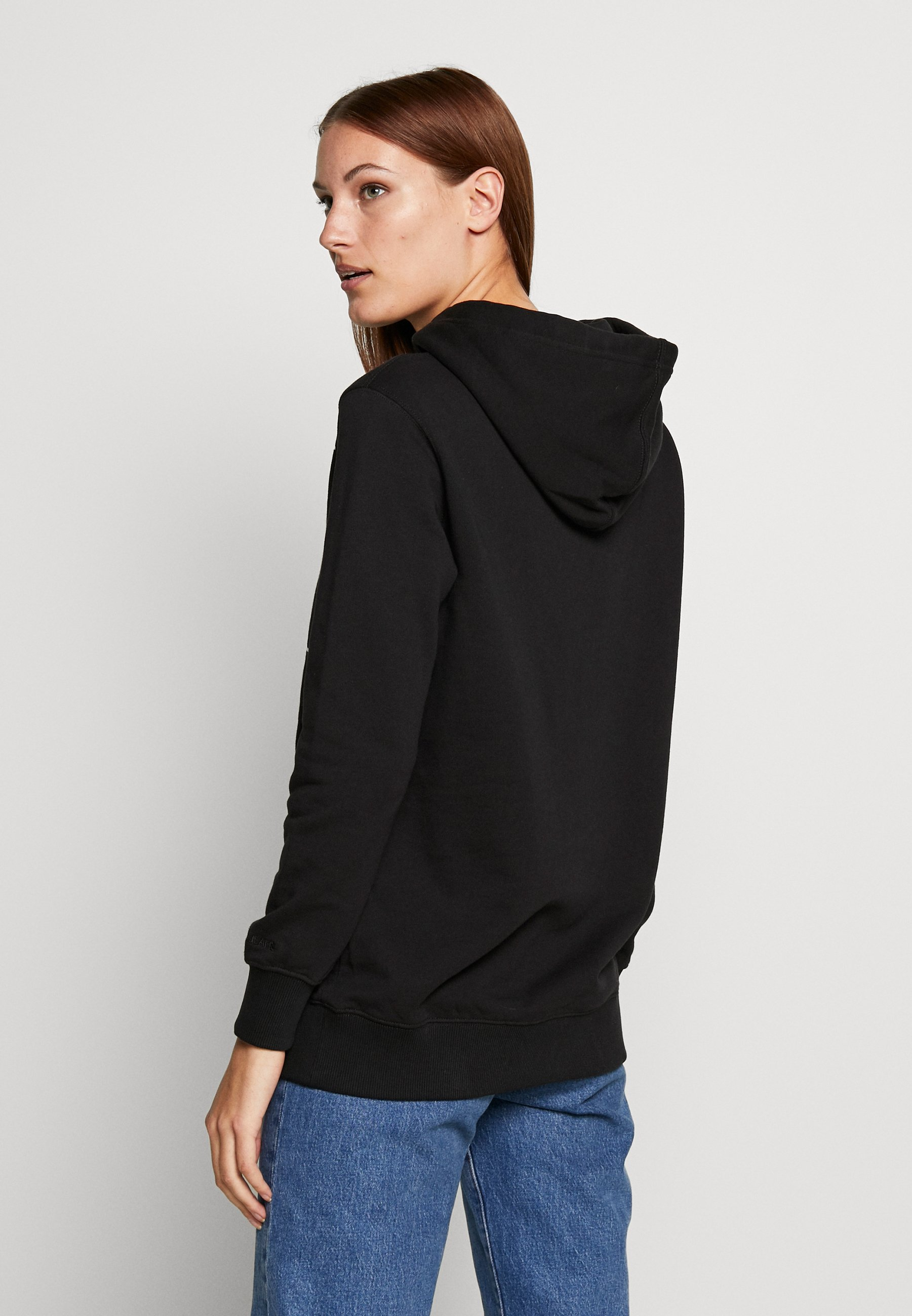 Calvin Klein Jeans Mirrored Monogram Hoodie - Black