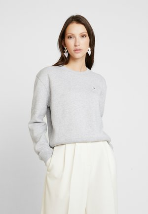 BOXY CREW NECK - Sweater - light grey heather