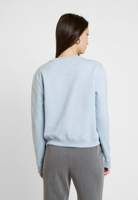 Calvin Klein Jeans - BOXY CREW NECK - Sweatshirt - skyway - 2