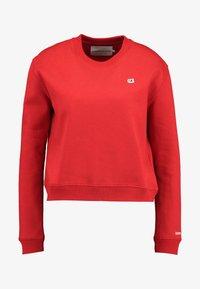 Calvin Klein Jeans - BOXY CREW NECK - Sweatshirt - barbados cherry - 4