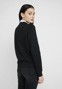 Calvin Klein Jeans - MOCK NECK - Sweatshirt - black - 2