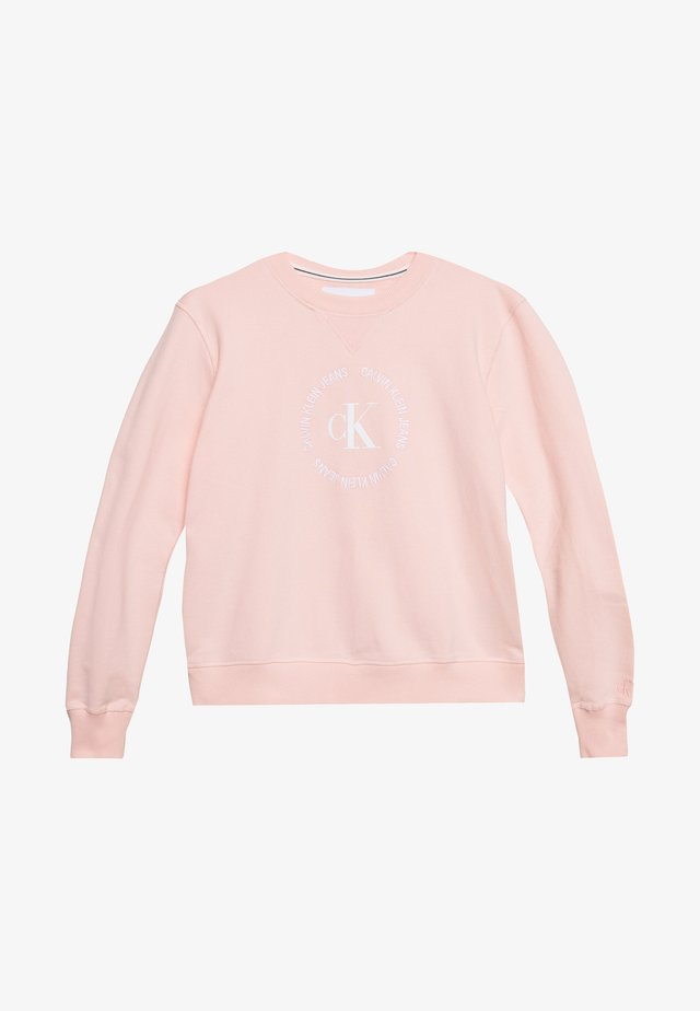 ROUND LOGO RELAXED - Collegepaita - pink