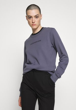 INSTITUTIONAL REGULAR CREW NECK - Sweatshirt - abstract grey